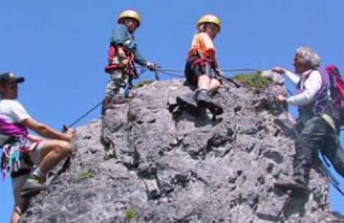 Klettersteig Ramsau : Kali klettersteig am dachstein auf sunny.at