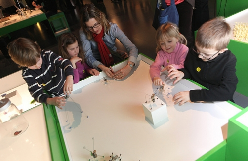Family-Tour im Ars Electronica Center Linz