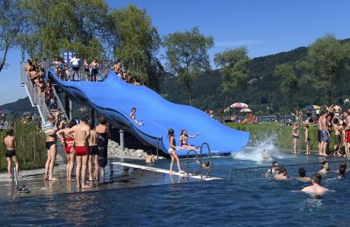 Bregenzer Strandbad Bregenz Vorarlberg Badespass Auf Sunny At