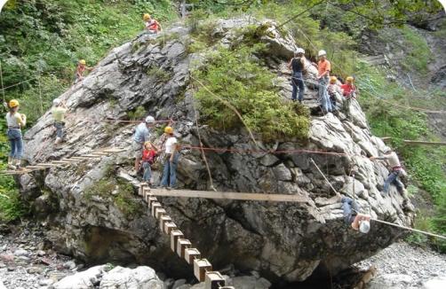 Kletterausrüstung Vorarlberg : Abenteuerpark schröcken vorarlberg sunny auf sunny.at