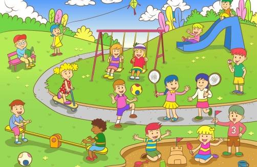 Kinderspielplatz In Der Nähe