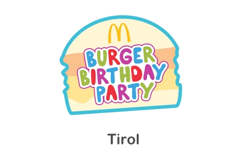 McDonald's Burger Birthday Party in Tirol