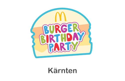 McDonald's Burger Birthday Party in Kärnten
