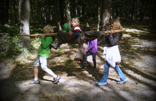 Outdoor Adventure & English Tagescamps in den Ferien