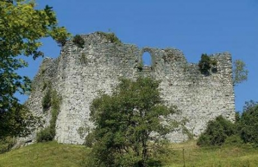 Ruine Plainburg in Großgmain
