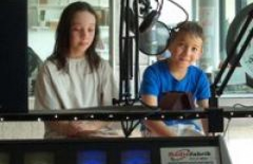 Kinderworkshop in der Radiofabrik Salzburg